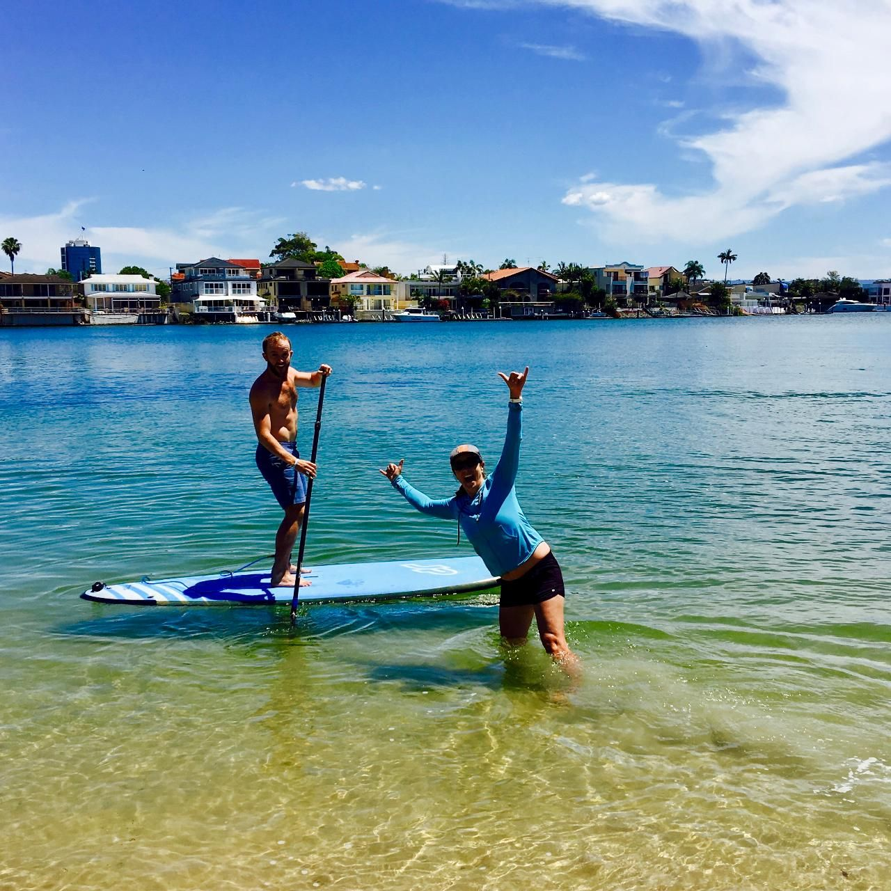Private SUP Lesson Surfers Paradise QLD, Australia