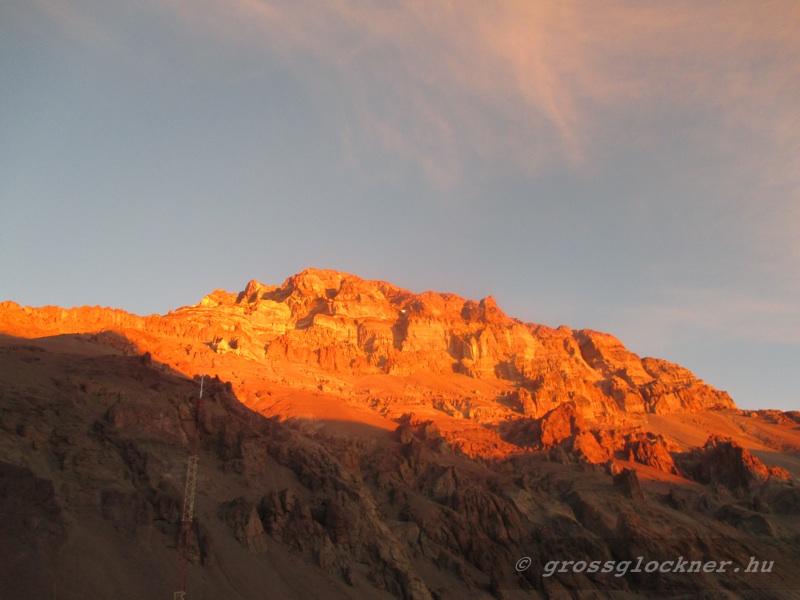 Aconcagua(6962m) csúcsmászás Argentína