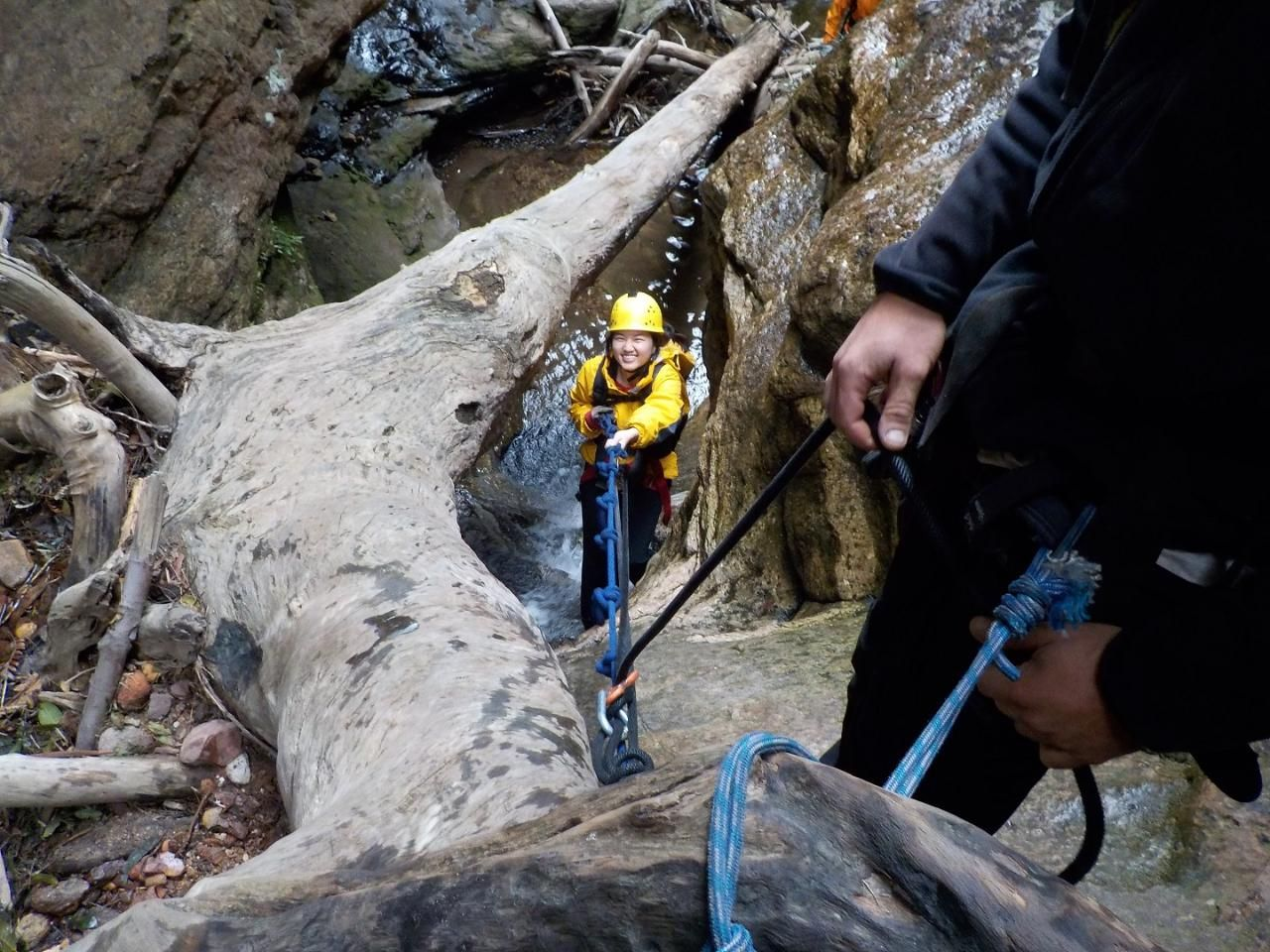 Beautiful Juggler Canyon - Abseiling and Canyoning Katoomba, Blue Mountains Park, Australia #f2215e2a-61eb-4bc5-a2ee-99dca99d464e