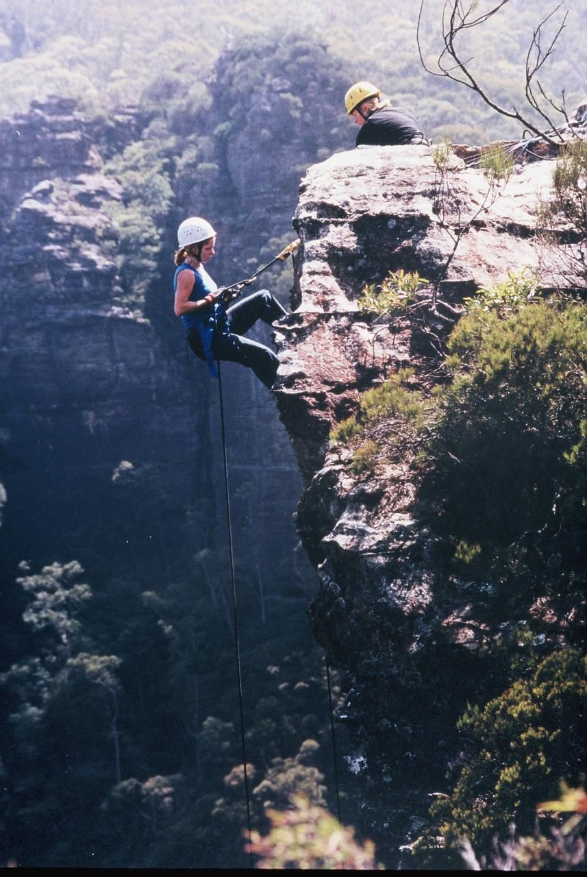Blue Mountains Abseiling Adventure Katoomba, Blue Mountain, Sydney, Aust.