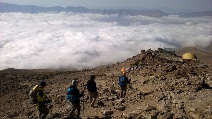 Damavand csúcsmászás – 5671 m Irán