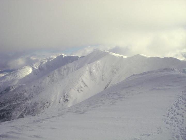 Téli Átkelés az Alacsony-Tátrán Alacsony-Tátra, Szlovákia