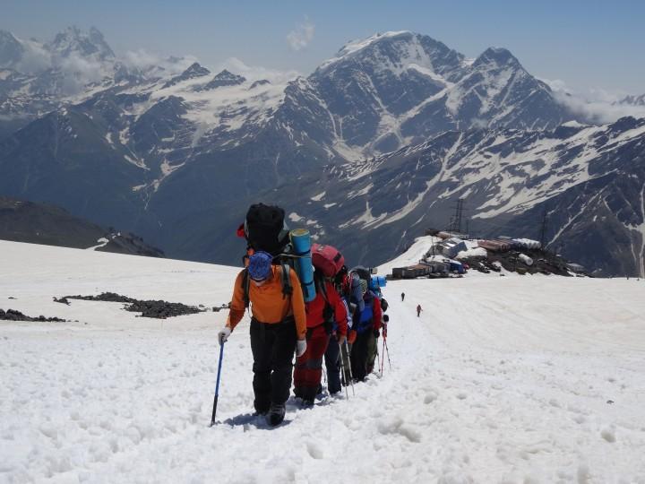 Elbrusz: mászás Európa tetejére (5642 m) Kabard- és Balkárföld, Oroszország #f82d958f-12a5-4611-aad4-ac5a0708d30d