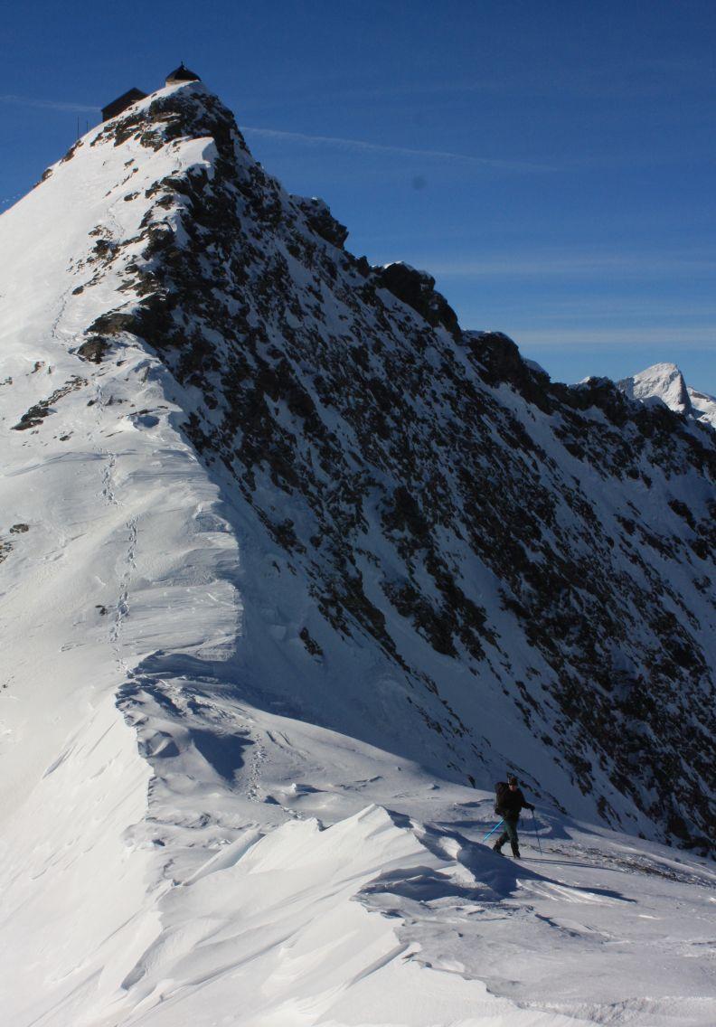 Ankogel (3254 m) téli mászás Angokel-csoport, Ausztria