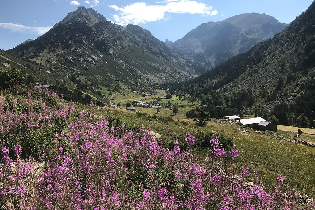 Summer Pyrenees Family Holiday with teenagers Andorra