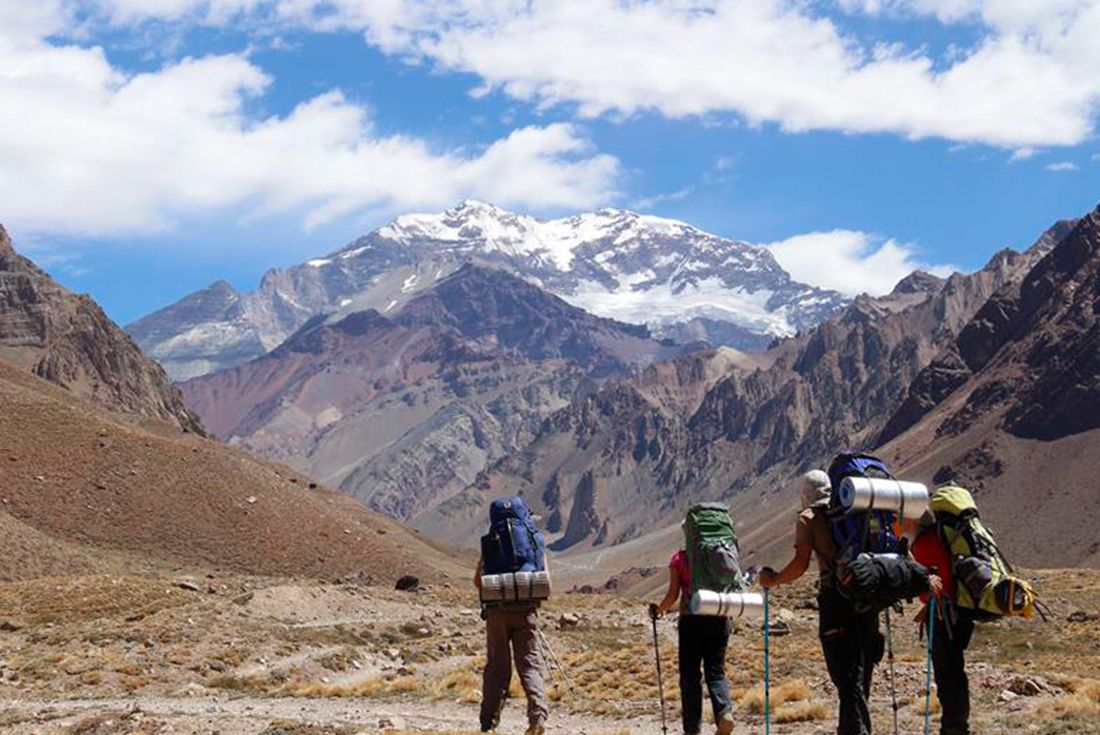 Argentina Expedition: Aconcagua Base & Mt Bonete Argentina
