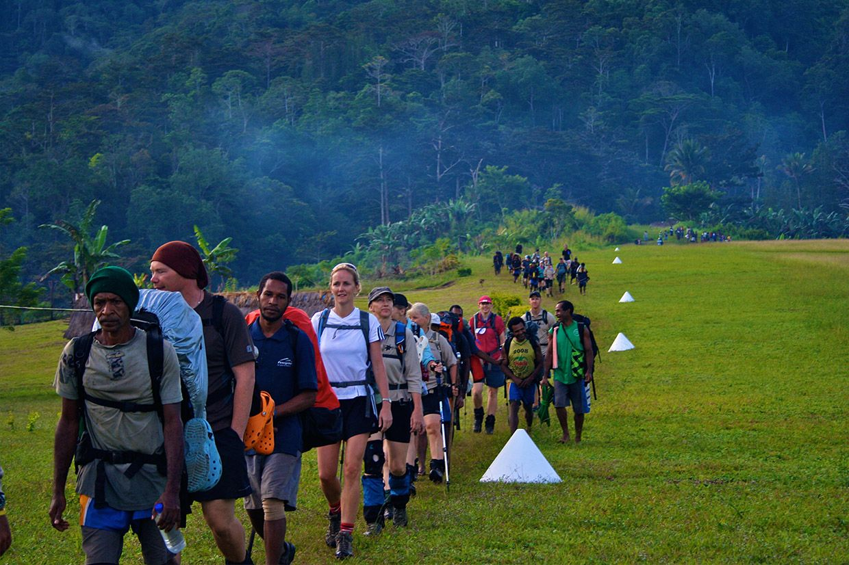 The Kokoda Track Papua New Guinea
