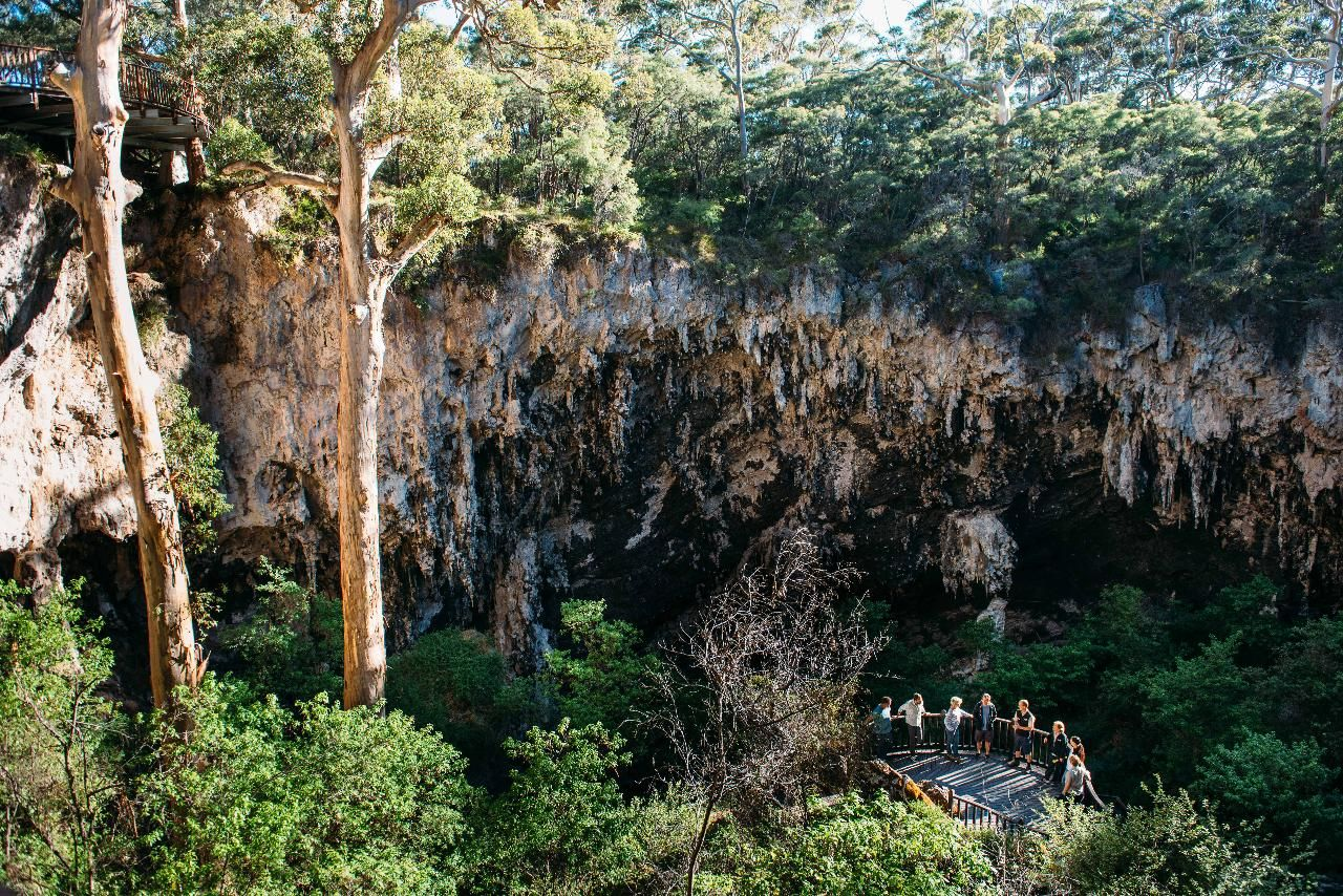 Lake Cave Fully Guided Tour  Lake Cave, Forest Grove WA, Australia