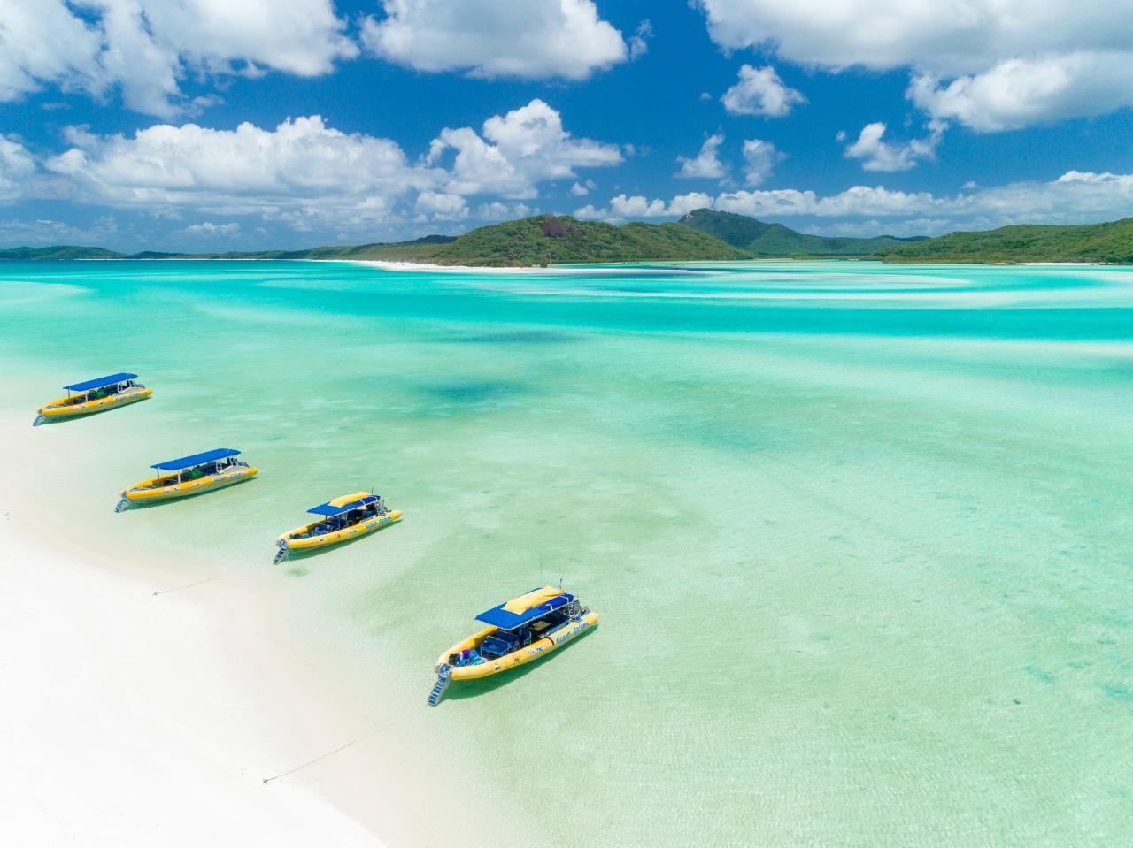 🐠 Whitsundays Island: North + South Exposure Whitehaven Beach, Great Barrier Reef #ee8df99e-d667-4103-b2f2-025340616d7e