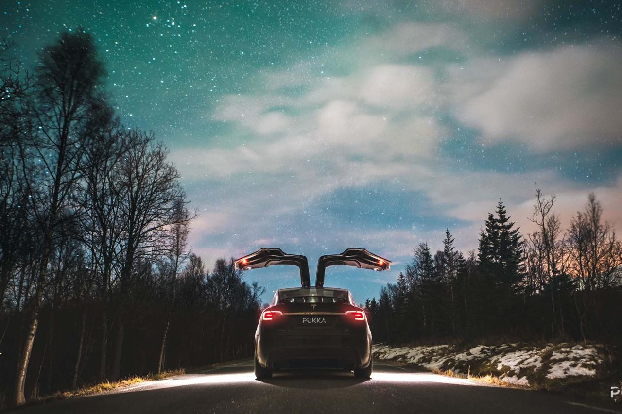 Private Northern Lights Tesla Experience Tromso, Norway #f9bbde40-84d7-4b60-9845-0ebabc4b92ef