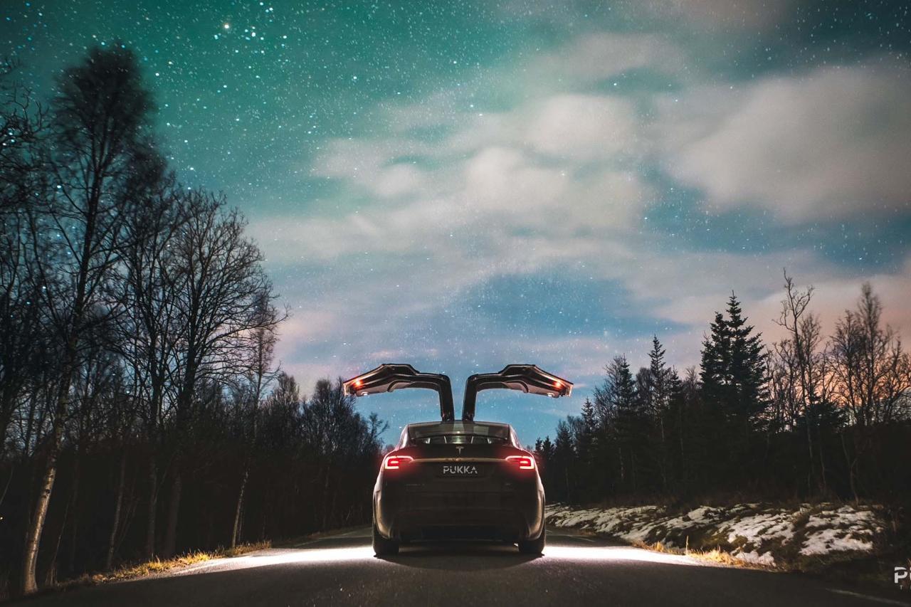 Northern Lights Tesla Experience Tromso, Norway #8d11b9e5-ee2e-4427-894f-6ea464d3a85a