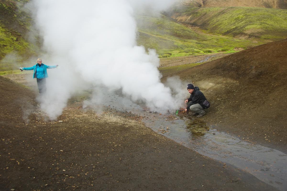 Gyalogtúra Izlandon