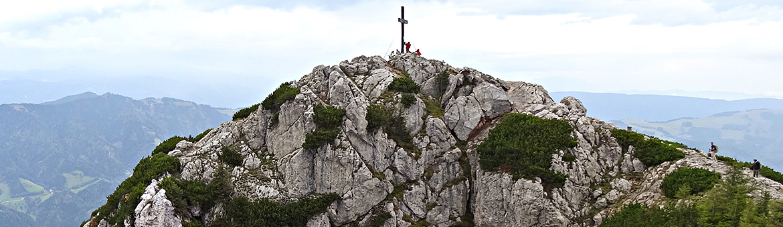 Via ferrata a Hochlantsch csúcsára Hochlantsch, Ausztria