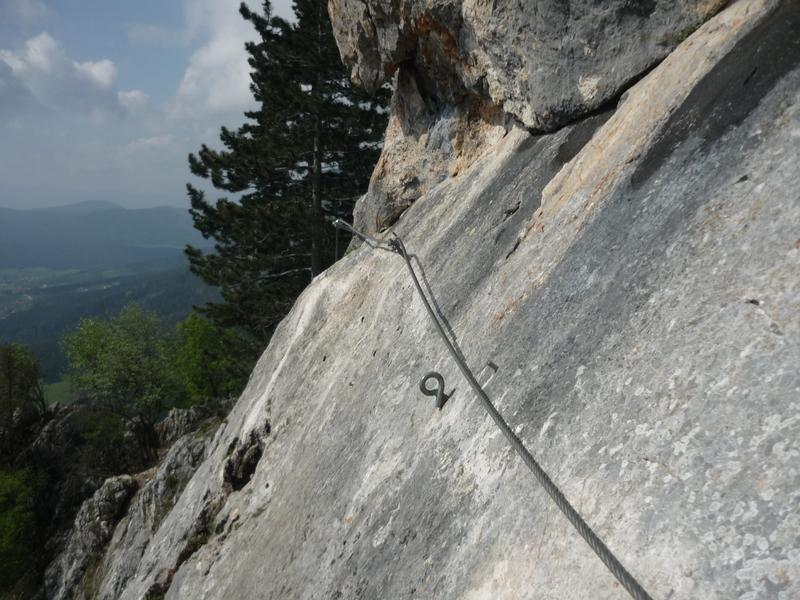 Hohe Wand klettersteig 1 napos (HTL-Steig)