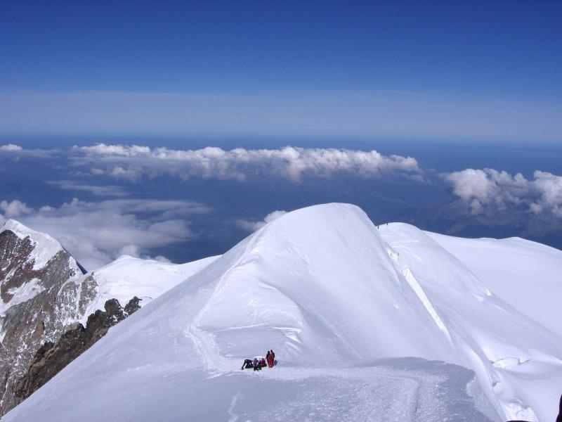 Mont Blanc, 4810 m Franciaország