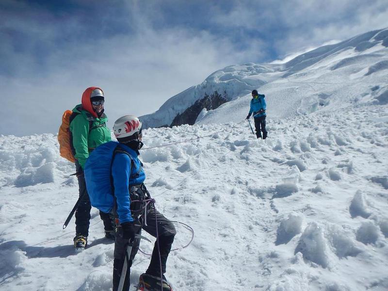 Ecuadori vulkánok - Chimborazo 6268 m! Ecuador