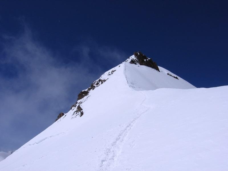 A Monte Rosa csoport 4000 méteres csúcsai Olaszország