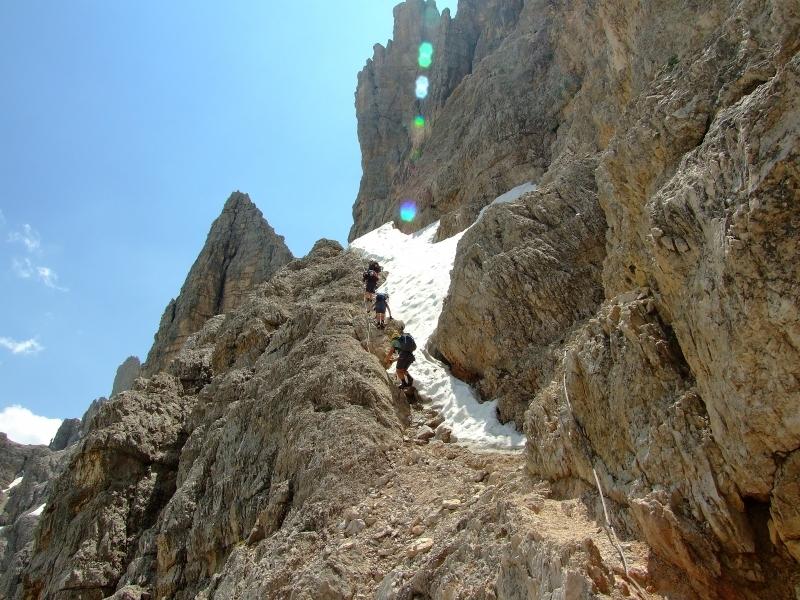 Dolomitok via ferrata  (Pomagagnon-, Sextener- és Tofana-csoport) Olaszország #3b4f4049-be5a-4762-a27d-8b84931a9e6b