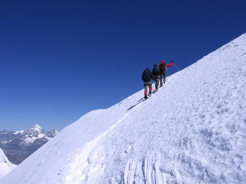 A Monte Rosa csoport 4000 méteres csúcsai Olaszország #53be865d-9f4e-41ff-9c37-e4cd2d23a7e9