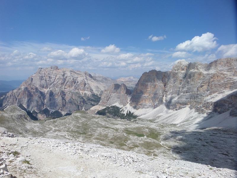 Dolomitok via ferrata  (Pomagagnon-, Sextener- és Tofana-csoport) Olaszország