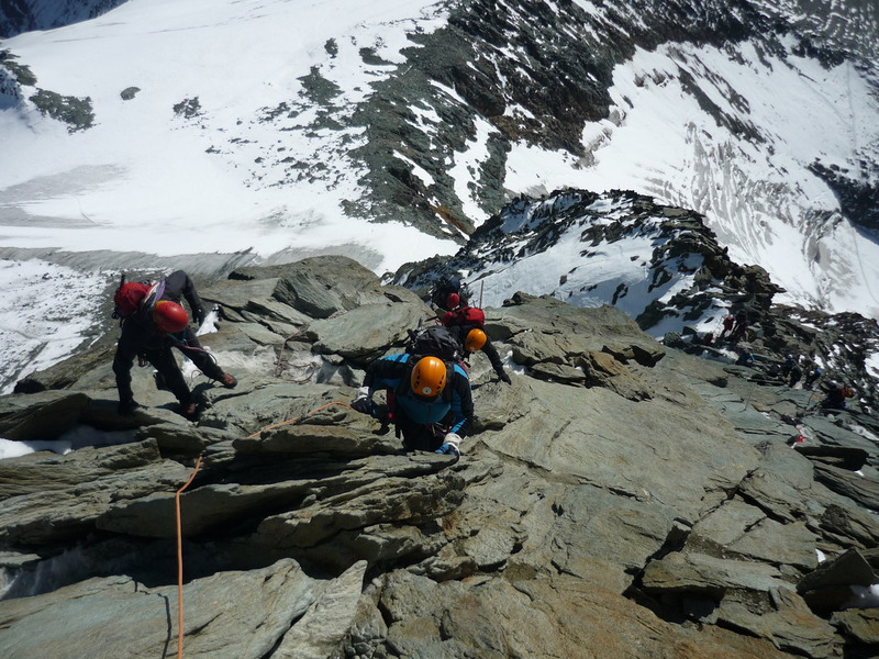 Grossglockner, 3798 m Ausztria