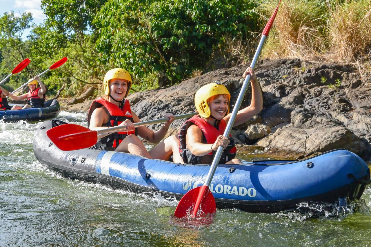Full-Day Sports Rafting Mission Beach QLD, Australia