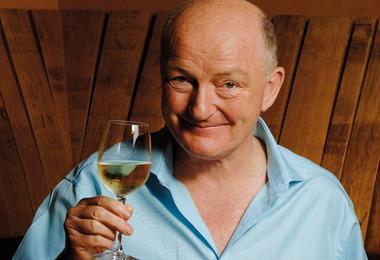 World wine tasting champion Oz Clarke