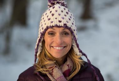 The wildlife expert Michaela Strachan