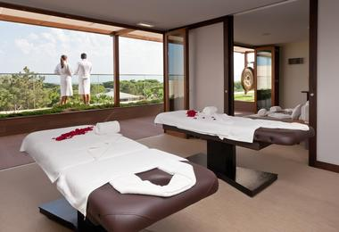 View inside Sayanna Wellness treatment room, Epic Sana, Algarve