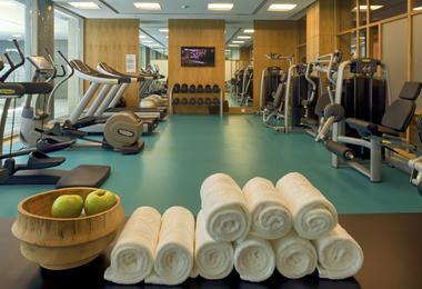 Fitness centre at Epic Sana, Algarve