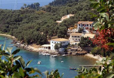 The White House at Kalami on Corfu