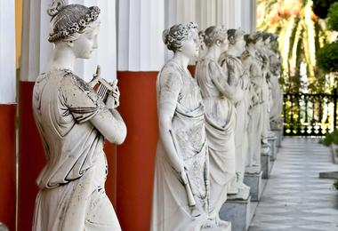 Achilleion Palace in Corfu