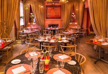 the award-winning Allium restaurant in The Abbey Hotel in Bath