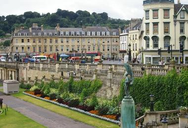 The Abbey hotel is the heart of Bath