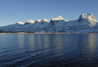 Seven sisters mountains, Norway