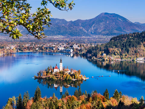 Slovenia And Lake Bled