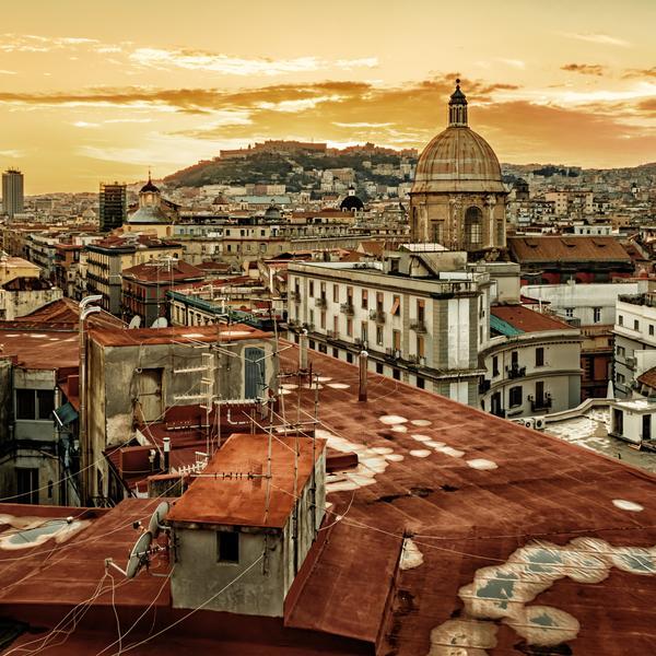 Rooftops of Naples