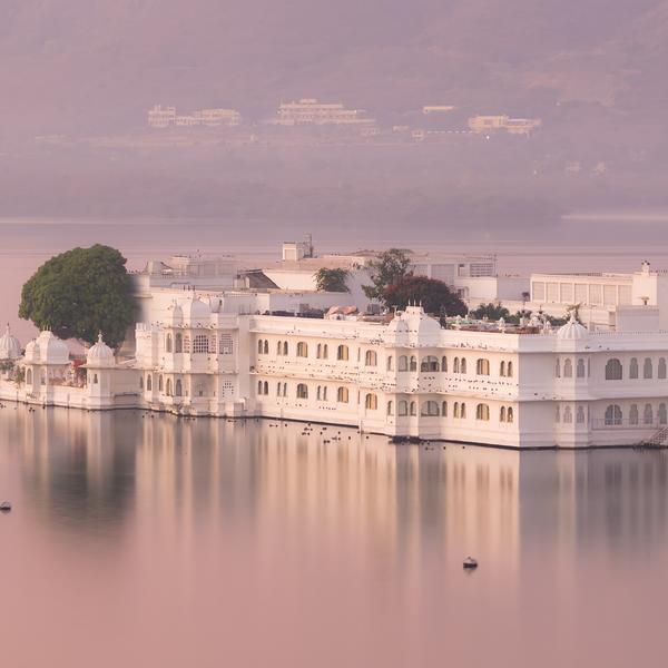Taj Lake Palace in Udaipur, India