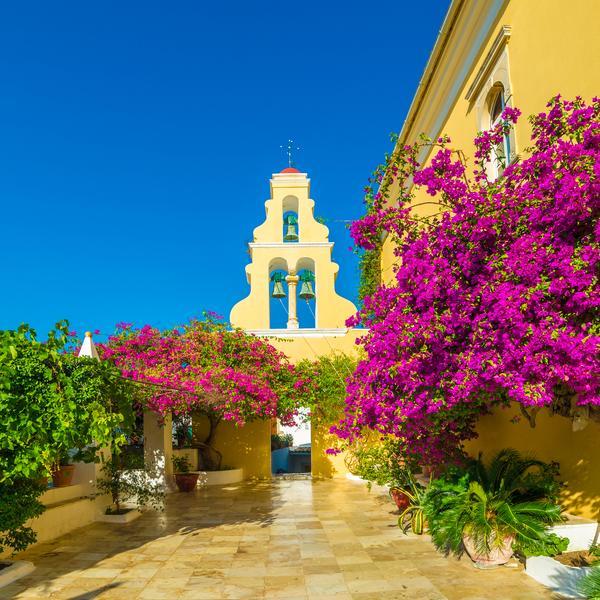 Theotokos Monastery in Corfu