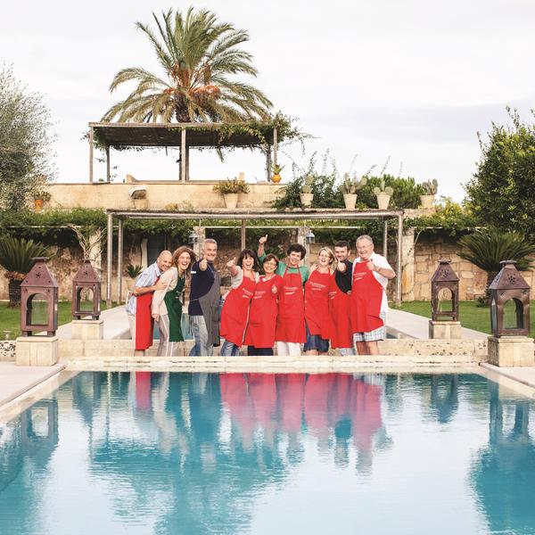 Guests on a Flavours Holiday to Italy