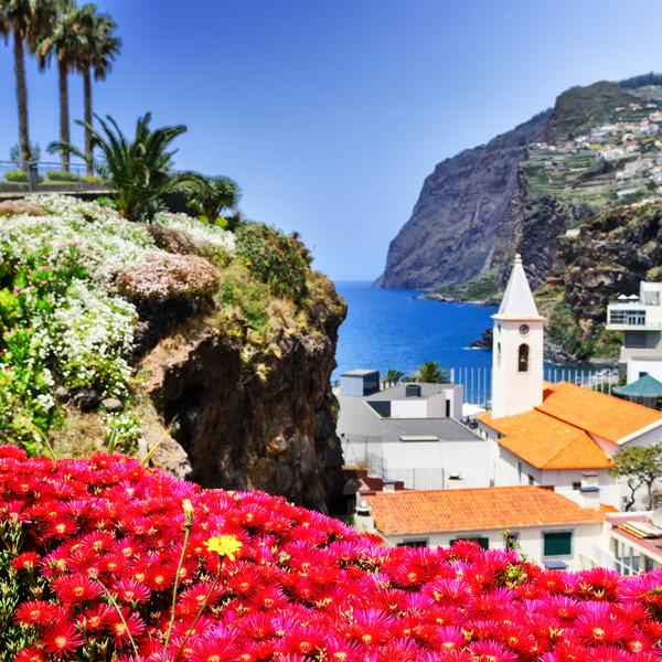 Camara de Lobos fishing village Madeira