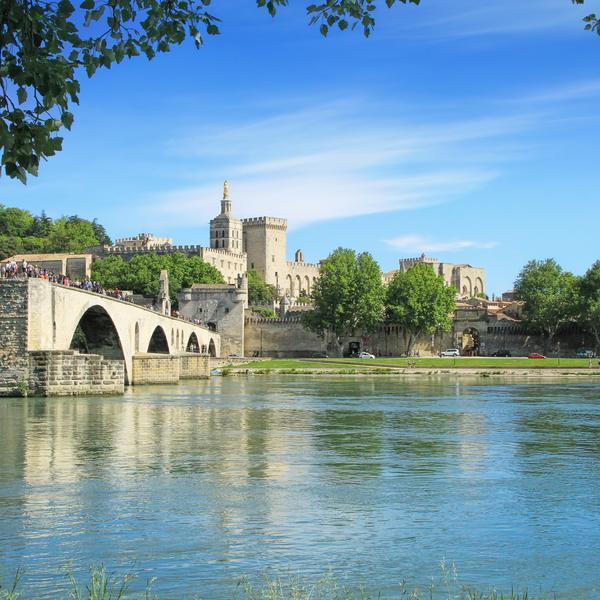 Rhone at Avignon