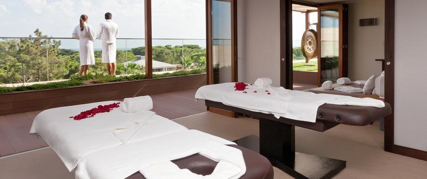 View inside Sayanna Wellness treatment room, Epic Sana Algarve