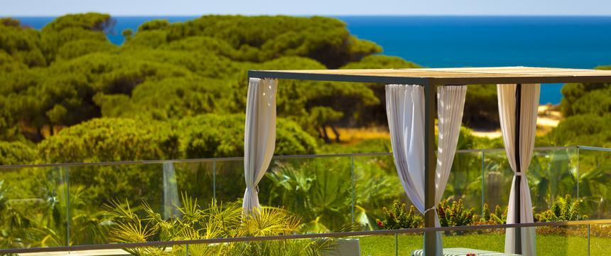 View of green exterior of Epic Sana resort