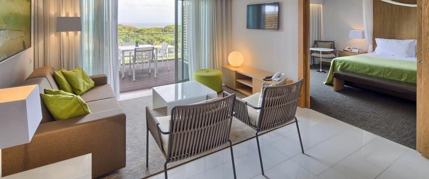 Inside the Ooean View suite at Epic Sana, Algarve