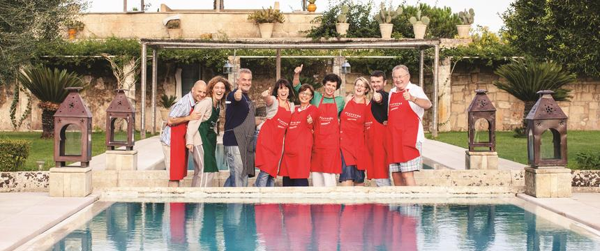Guests enjoying a Flavours Holiday in Italy