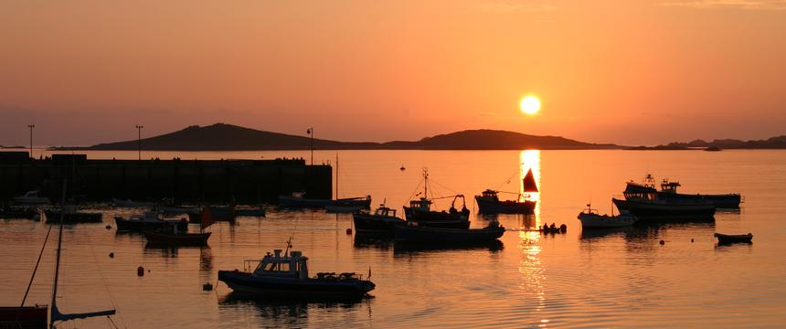 Sunset, Scilly Isles