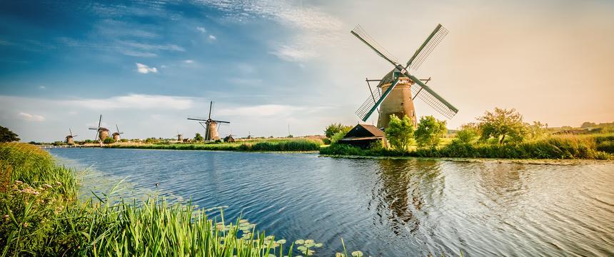 Kinderdijk UNESCO windmills