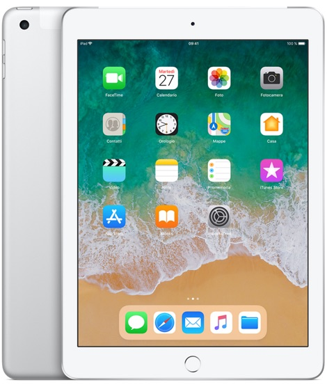 Offerta Apple iPad 9.7 128gb cellular 6a gen su TrovaUsati.it