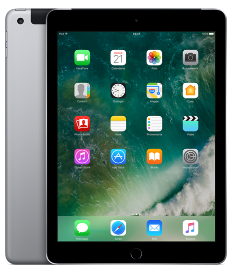 Offerta Apple iPad 9.7 128gb cellular 5a gen su TrovaUsati.it